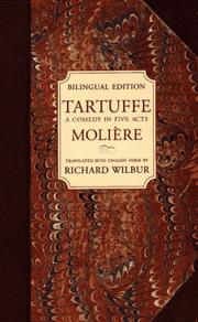 Cover of: Tartuffe by Molière, Edgar Thurston