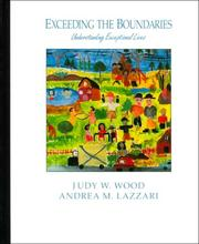Cover of: Exceeding the boundaries by Judy W. Wood
