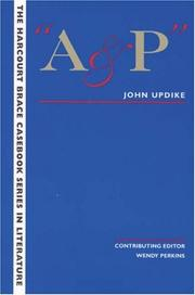 Cover of: A &amp; P by John Updike