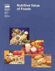 Cover of: Nutritive value of foods by Susan E. Gebhardt
