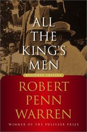 Cover of: All the King&#39;s Men by Robert Penn Warren