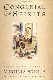 Cover of: Congenial spirits by Virginia Woolf