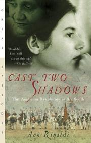 Cover of: Cast two shadows by Ann Rinaldi