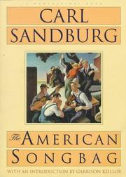 Cover of: The American Songbag by Carl Sandburg