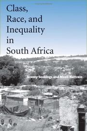 Cover of: Class, race, and inequality in South Africa by Jeremy Seekings