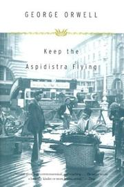 Cover of: Keep the Aspidistra Flying by George Orwell