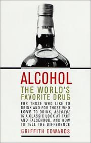 Cover of: Alcohol by Griffith Edwards