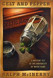 Cover of: Celt and pepper by Ralph M. McInerny