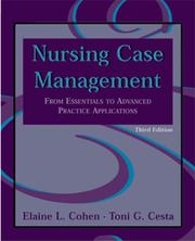 Cover of: Nursing case management by Elaine L. Cohen
