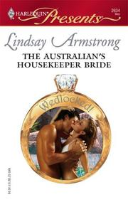 Cover of: The Australian's Housekeeper Bride by Lindsay Armstrong