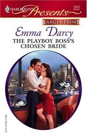 Cover of: The Playboy Boss&#39;s Chosen Bride by Emma Darcy