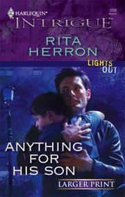 Cover of: Anything For His Son by Rita Herron