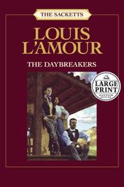 Cover of: The daybreakers by Louis L'Amour