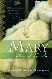 Cover of: Mary by Janis Cooke Newman