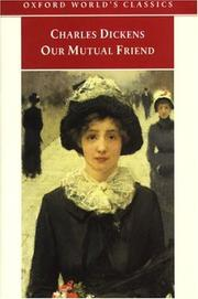 Cover of: Our mutual friend by Joss Whedon