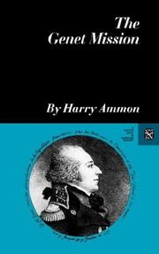 Cover of: The Genet mission by Harry Ammon