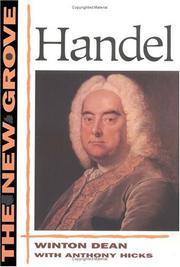 The New Grove Handel