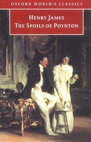 Cover of: The spoils of Poynton by Henry James, Jr.