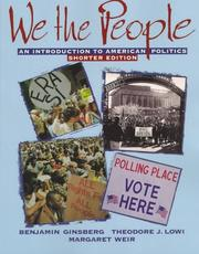 Cover of: We the People by Benjamin Ginsberg