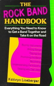 Rock Band Handbook Kathryn Lineberger