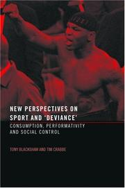 Cover of: New perspectives on sport and deviance by Tony Blackshaw