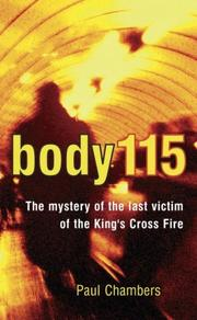 Cover of: Body 115 by Paul Chambers