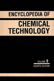 Cover of: Kirk-Othmer Encyclopedia of Chemical Technology, Elastomers, Polyisoprene to Expert Systems (Encyclopedia of Chemical Technology) by Kirk-Othmer