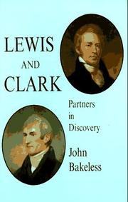 Cover of: Lewis and Clark by John Bakeless