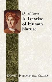 Cover of: A treatise of human nature | David Hume