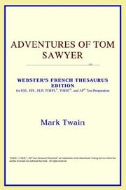 Cover of: Adventures of Tom Sawyer by Mark Twain
