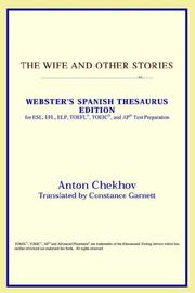 Cover of: The Wife and Other Stories by Anton Chekhov