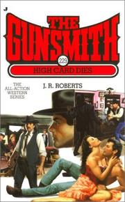 Cover of: High card dies by Roberts, J. R.