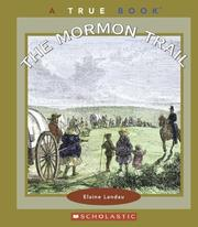 Cover of: The Mormon Trail by Elaine Landau