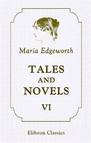 Cover of: Tales and Novels by Maria Edgeworth