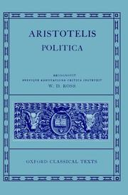 Cover of: Politica by Aristotle