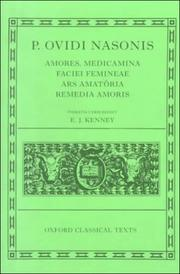 Cover of: Amores ; Medicamina faciei femineae ; Ars amatoria ; Remedia amoris by Ovid
