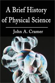 Cover of: Physical Science by John Cramer