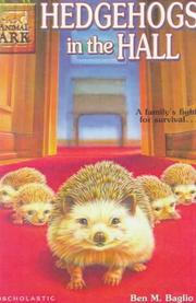 Cover of: Hedgehogs in the Hall by Ben M. Baglio