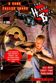 Cover of: A Game Called Chaos by Franklin W. Dixon