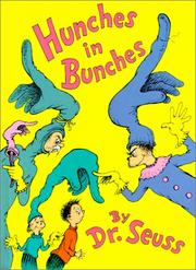 Cover of: Hunches in bunches by Dr. Seuss