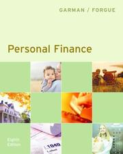 Cover of: Personal finance by E. Thomas Garman
