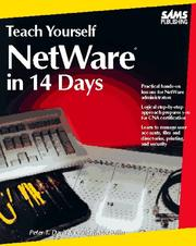 Cover of: Teach yourself NetWare in 14 days by Peter T. Davis