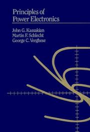 Principles of Power Electronics (John G. Kassakian)