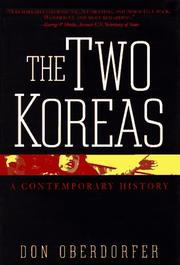 Cover of: The two Koreas by Don Oberdorfer