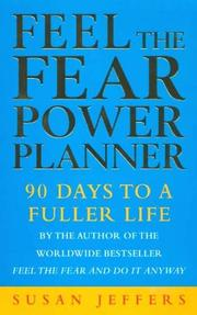 Cover of: Feel the Fear Power Planner by Susan Jeffers