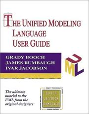 Cover of: The unified modeling language user guide by Grady Booch