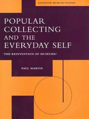 Cover of: Popular collecting and the everyday self by Martin, Paul