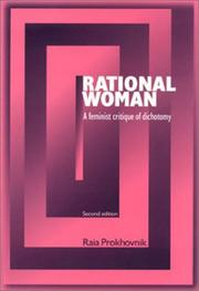 Cover of: Rational woman by Raia Prokhovnik