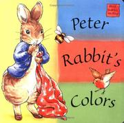 Cover of: Peter Rabbit's Colors by Beatrix Potter