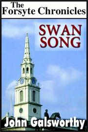 Cover of: Swan song by John Galsworthy